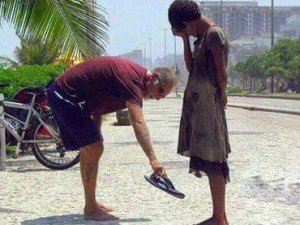 Man Act of Kindness