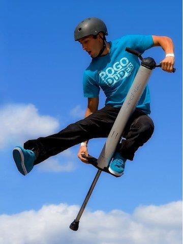 Pogo stick guinness book of records