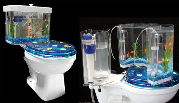 15 of the coolest toilets from around the world chaostrophic for Coolest fish in the world