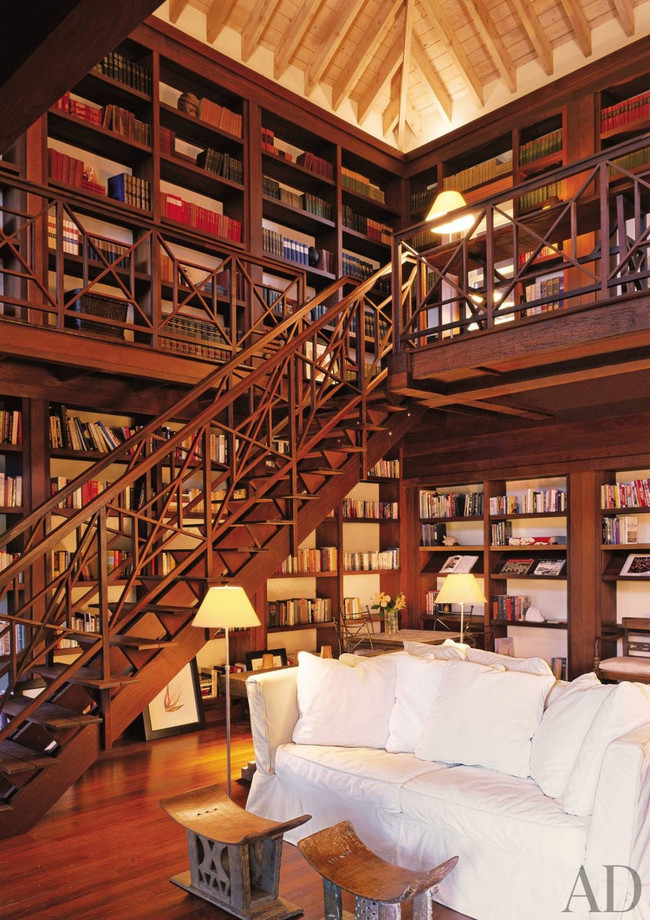 The Most Beautiful Home Libraries Around The World Wow