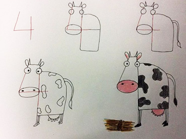 And easy tricks and tips to teach your kids how to draw using numbers