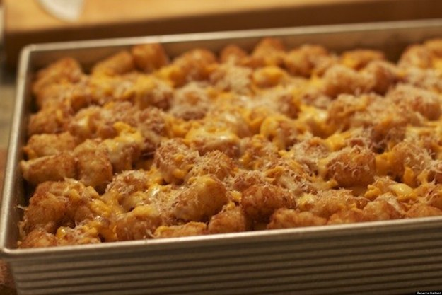 Mac & Cheese With Tater Tots