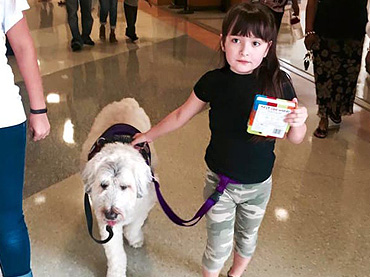 ... for Right for a Service Dog at School …See How She Won the Battle