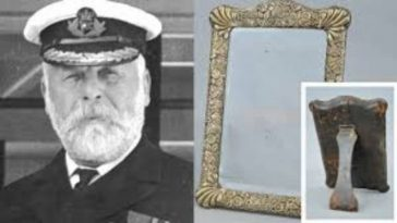 Titanic Captain's haunted mirror