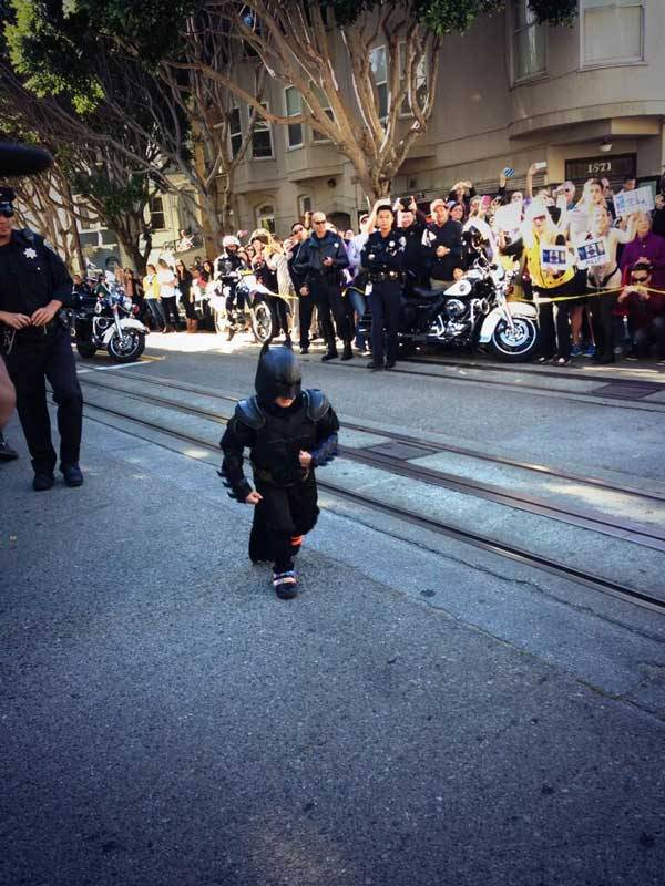 Crowd Cheering Batkid