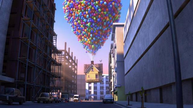 Clip of the movie UP