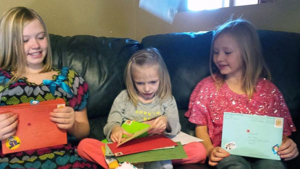 Sick Little Girl Gets Christmas Cards to Last a Lifetime