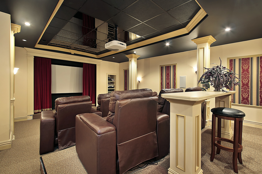 21 Magnificent Home Theaters Designs to Marvel At – Wow Amazing