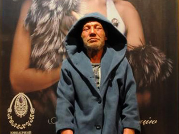 Ukraine's Most Fashionable Homeless Man