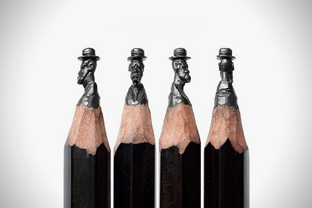 Hatman Pencil Sculpture