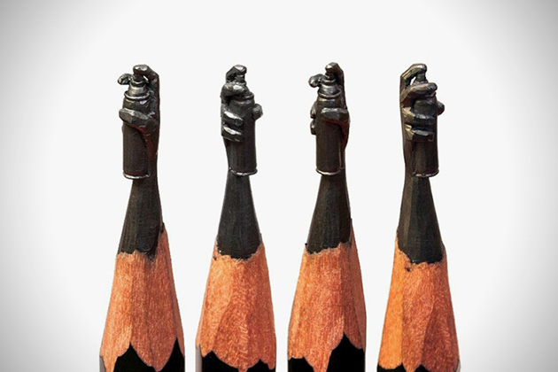 Graffiti Pencil Sculp