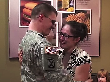 Wife Surprised by The Early Homecoming of her Husband