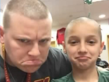 Teacher Shaves Off Her Hair to Prevent Bullying of Her Student