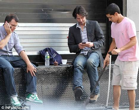 Keanu Reeves outdoor