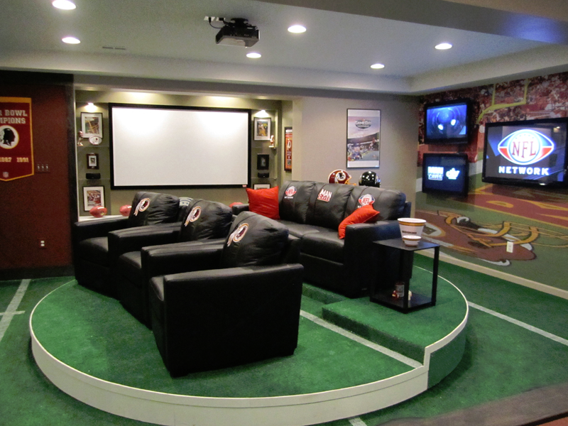 Magnificent Home Theaters Designs