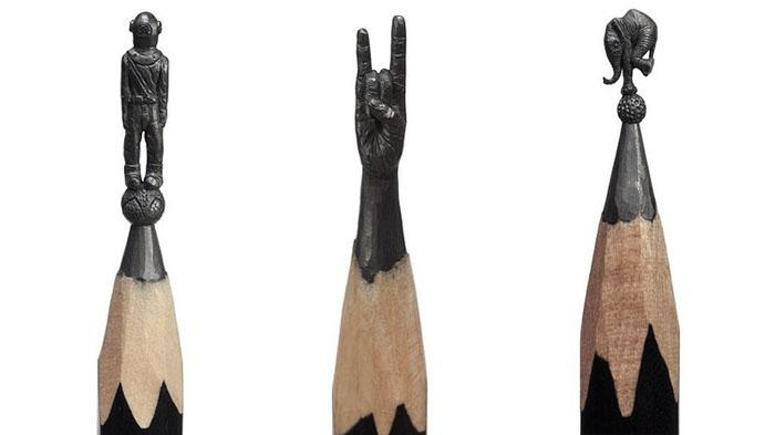 Random Pencil Sculpture