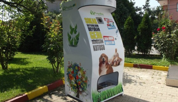 Vending machine for dogs