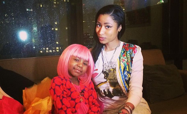 Nicki Minaj and Miyah