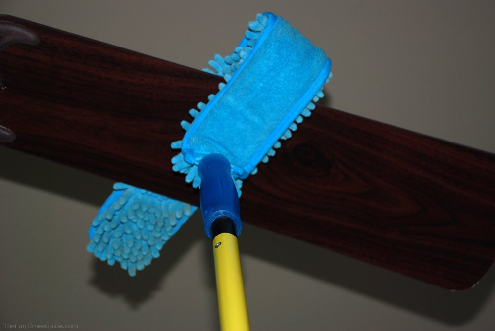 Incredible cleaning hacks you might have never thought of before ceiling fan cleaner mozeypictures Choice Image