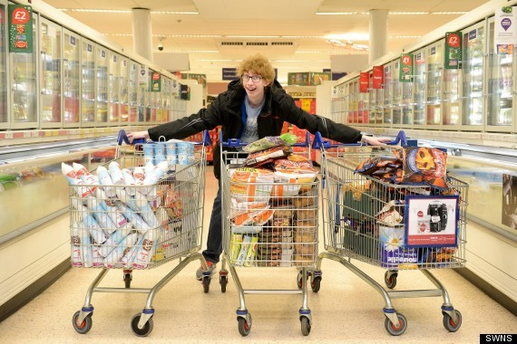 Teen Spent Almost $1,000 Worth of Food