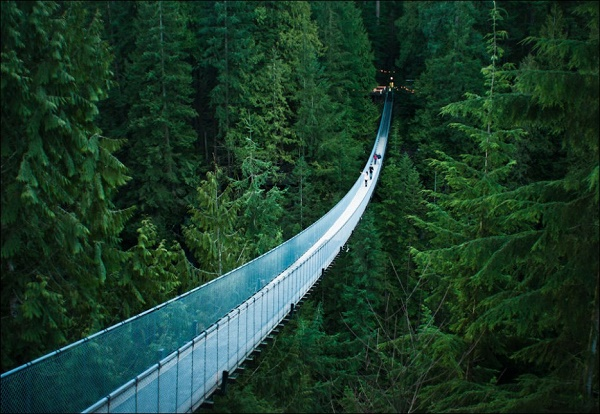 10-Capilano Suspension Bridge - Vancouver - Canada