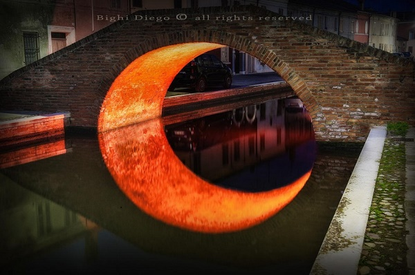12-Moon Bridge - Ferrara - Italy