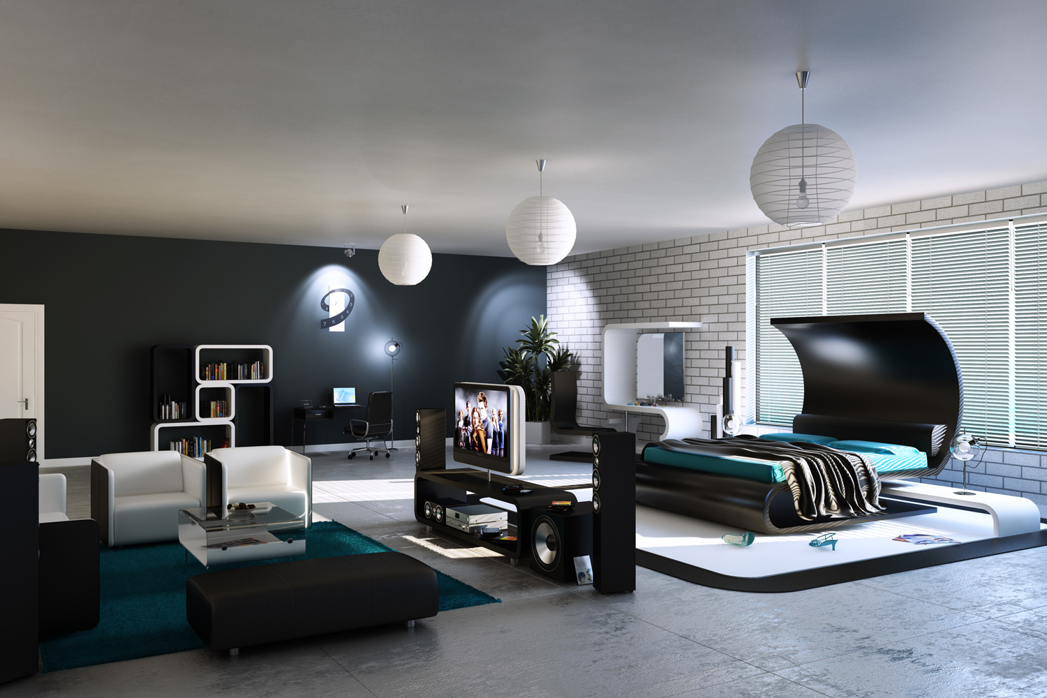 Modern Bedroom New On Photos of Ideas