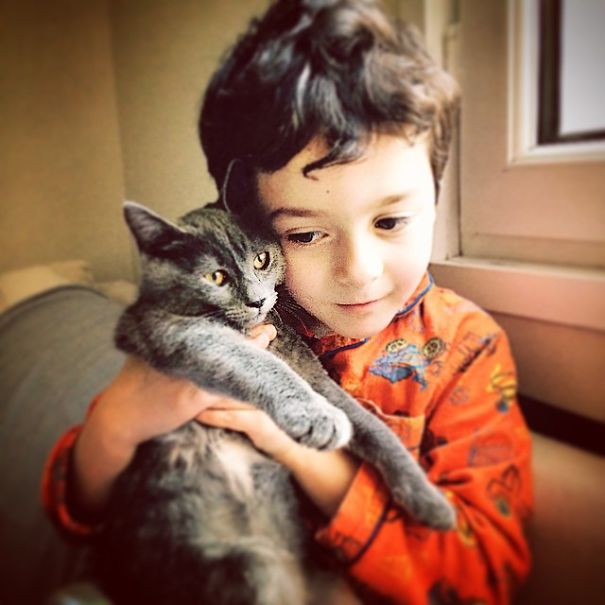 Deniz 6 With Cat Bella