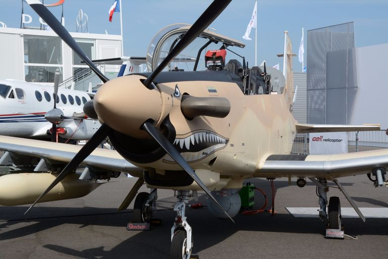 All teeth and turboprop - the AT-6 Wolverine