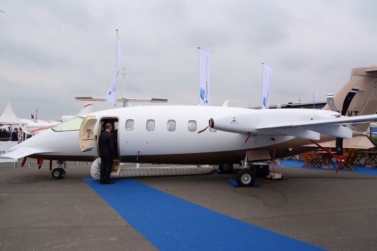 Piaggio's Avanti EVO is reported to offer superior climb performance, class-leading fuel economy and a custom-made cabin