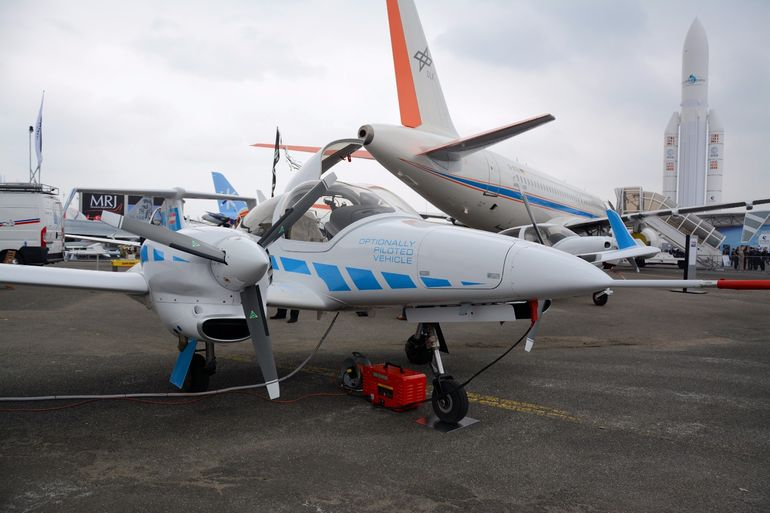 Diamond Aircraft's DA42 OPV (Optionally Piloted Vehicle)
