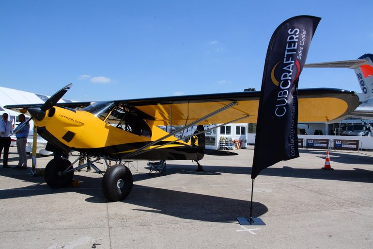 The CubCrafters Carbon Cub EX arrives in Europe