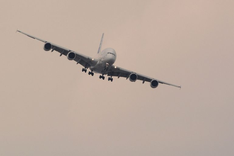 The four-engine A380 is said to be the world's largest passenger airliner