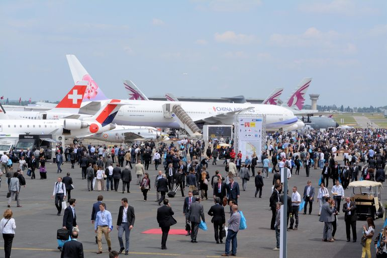 Gizmag joins the crowds at the 51st Paris International Air Show