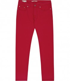 Reiss Montreal Slim Fit Twill Jeans Red