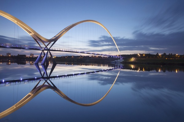 3-Infinity Bridge - Stockton-on-Tees - United Kingdom