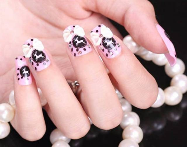 50 amazing 3d nail art designs you need to try wow amazing 3d nail art designs 31 prinsesfo Image collections