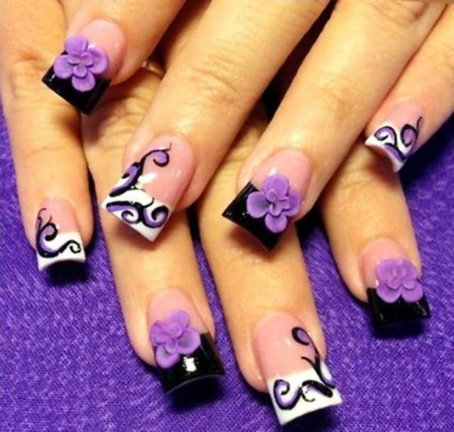 50 Amazing 3d Nail Art Designs You Need To Try Wow Amazing