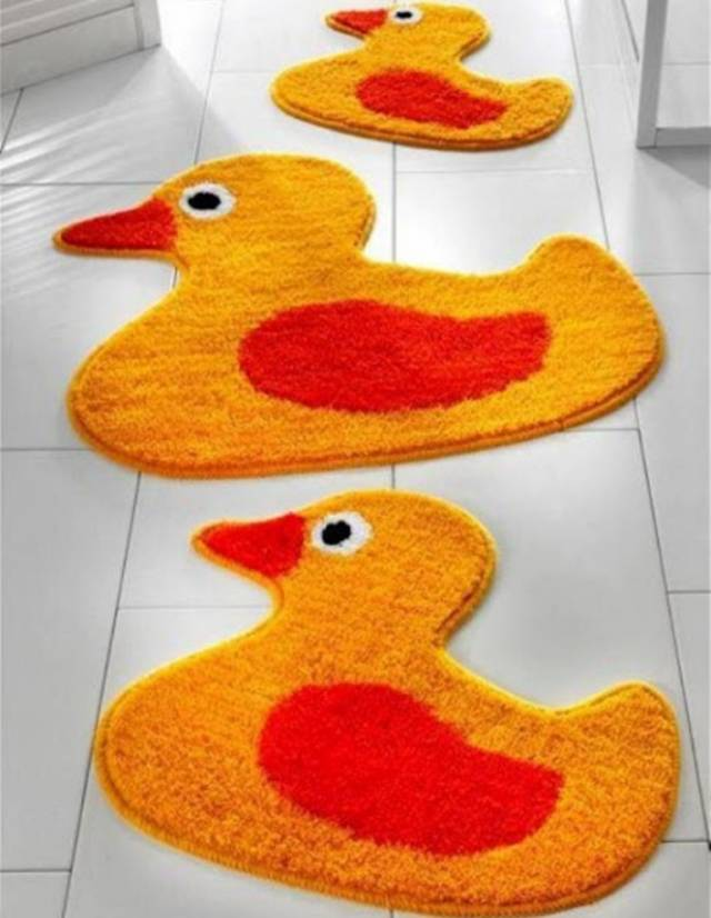 42 Awesome & Fabulous Bathroom Rugs for Kids 2015 (29)