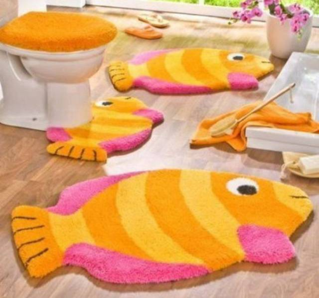 42 Awesome & Fabulous Bathroom Rugs for Kids 2015 (33)