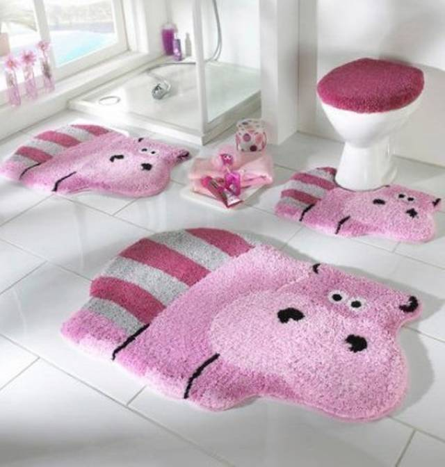 42 Awesome & Fabulous Bathroom Rugs for Kids 2015 (41)