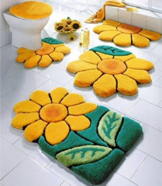 42 Awesome & Fabulous Bathroom Rugs for Kids 2015