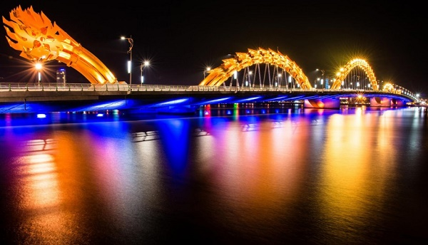 5-Dragon Bridge - Da Nang - Vietnam