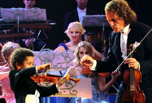 Dieom Casipong Violin prodigy