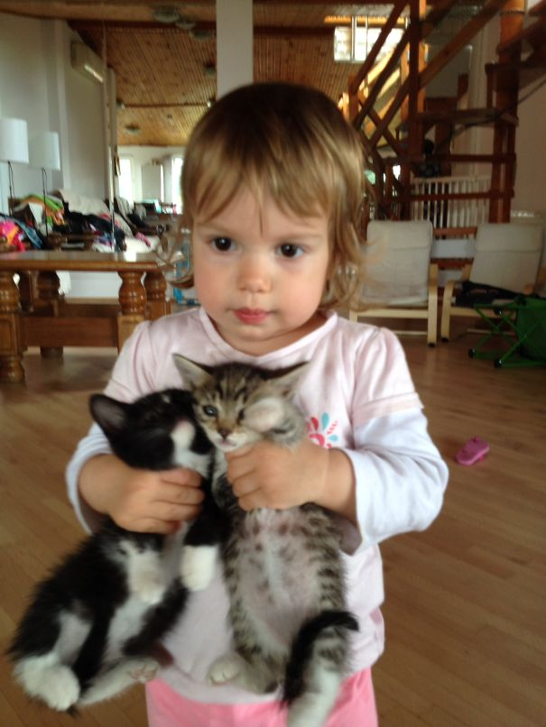 Alex And Her Kittens