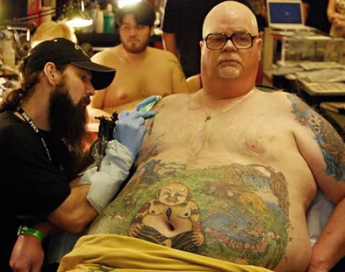 Fat Man Tattoo