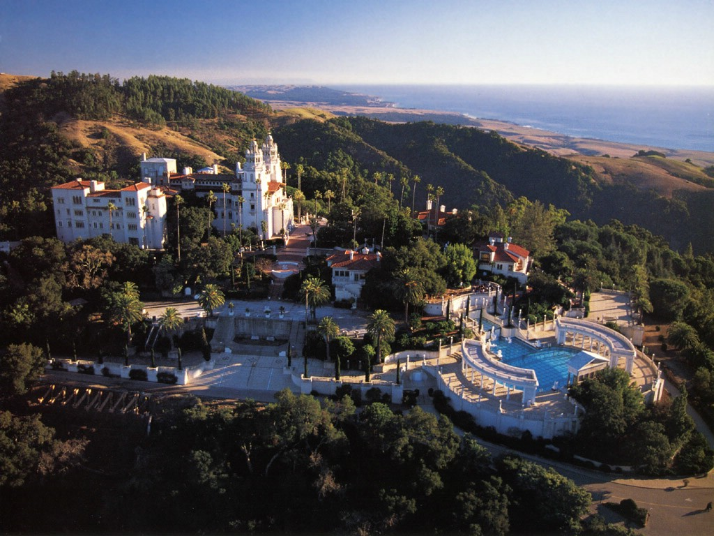 Hearst Castle- Beverly Hills, California