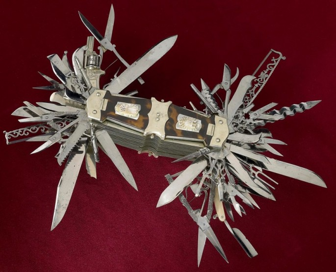 John Holler's 100-function Multi-tool, 1880 - 01