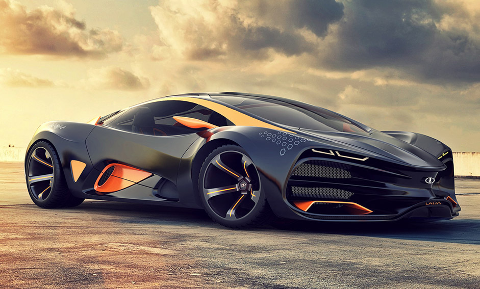 Lada Unleashes its Supercar Concept- Lada Raven – Wow Amazing
