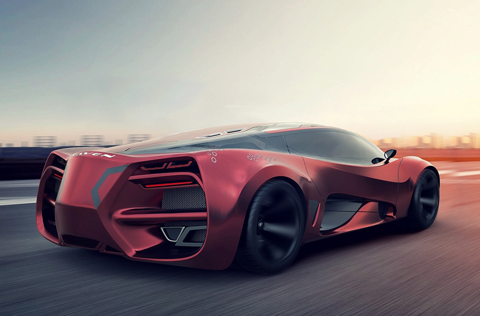 Lada Unleashes Its Supercar Concept Lada Raven Wow Amazing